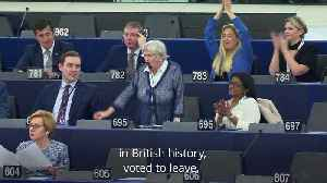 Ann Widdecombe gets into heated debate with Dutch MEP [Video]