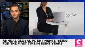PC Shipments Rise for the First Time in Eight Years [Video]