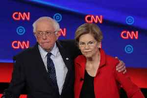 News video: Elizabeth Warren Confirms Bernie Sanders Said a Woman Couldn't Win the 2020 Presidential Election