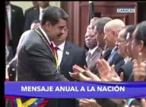 Maduro in nat'l address slams Guaido [Video]