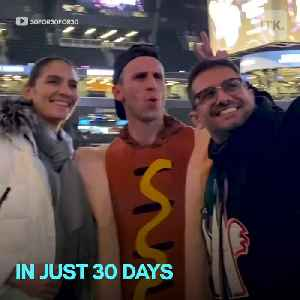 Two friends, one quest: thirty NBA games, thirty jumbotrons, thirty days. 🏀 [Video]