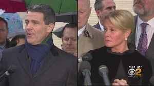 News video: Chris Christie Visits U.S. Supreme Court As Justices Hear 'Bridgegate' Arguments