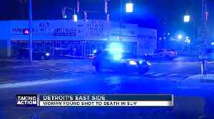 Person of interest detained after woman found shot dead inside SUV on Detroit's east side [Video]