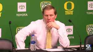 Web Extra: Dana Altman recaps win over ASU (1/11/20) [Video]