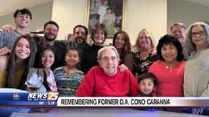 Service Set for Long-Time District Attorney Cono Caranna, II [Video]