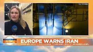 EU nations trigger dispute mechanism in last-ditch bid to save Iran deal [Video]
