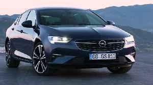 The new Opel Insignia Grand Sport Design [Video]