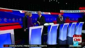 News video: US Democrats spar on foreign policy, trade and electability in seventh debate