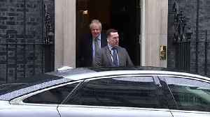 Boris Johnson departs Number 10 for PMQs [Video]