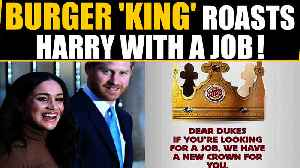 Burger King trolls Prince Harry with a job offer, kills internet | Oneindia News [Video]