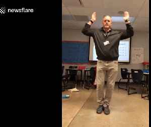 This dancing US middle school teacher is blowing up on TikTok due to his smooth moves [Video]