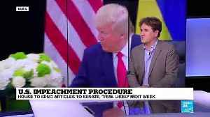 A quick impeachment trial would benefit the Republicans [Video]
