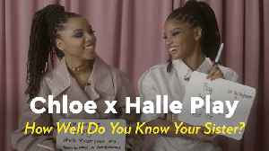 Chloe x Halle Play 'How Well Do You Know Your Sister?' [Video]
