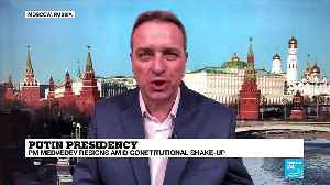 """Russian PM Medvedev resigns:  """"It's clear this was all planned in advance"""" [Video]"""