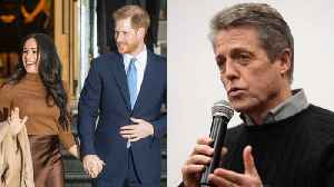 Hugh Grant supportive of Prince Harry's decision to step back from royal duties [Video]