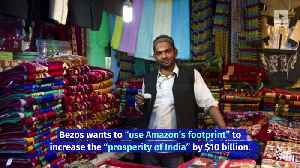 Amazon to Invest $1 Billion in India's Businesses [Video]