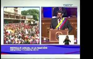 Maduro in nat'l address slams Guaido [Video]