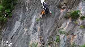 Rescuers free BASE jumper caught on side of Thai cliff [Video]