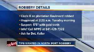 Tips wanted in North Port gas station robbery [Video]