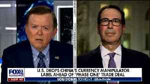 Mnuchin talks to Dobbs about trade deal with China [Video]