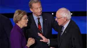 How Joe Biden benefits from Warren/Sanders feud [Video]