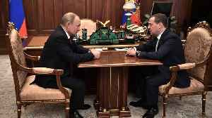 News video: Russia's Government Resigns As Putin Eyes Shift In Power