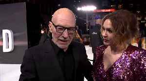 News video: 'Star Trek' return 'irresistible,' says Patrick Stewart at new series premiere