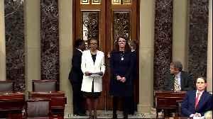 Pelosi-signed impeachment articles formally sent to Senate [Video]