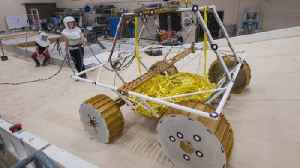 News video: Watch NASA Test Out New Moon Rover's Moves in Lunar Lab