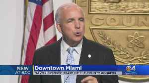 Final 'State Of The County' Address For Miami-Dade Mayor Carlos Gimenez [Video]