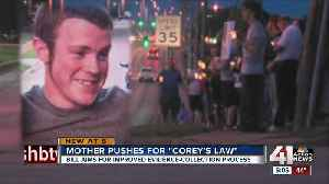 'Corey's Law' calls for improved evidence-collection process [Video]