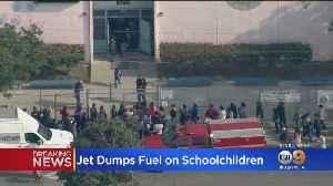 News video: Delta Flight Dumps Jet Fuel Over LA Schools; Dozens Of Students, Adults Treated For Exposure