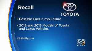 Toyota Recalling 700,000 Vehicles In United States Due To Fuel Pumps Failing, Causing Engines To Stall [Video]