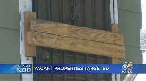 Some Wonder If Occupation Of Vacant Homes Could Become A Trend [Video]