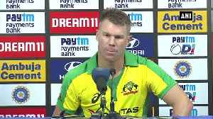 News video: Ind vs Aus Have hunger for runs all the time says Warner on winning ton in 1st ODI