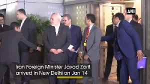 Iran Foreign Minister arrives in India amid tensions with US [Video]