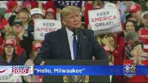 President Trump Rallies In Milwaukee [Video]