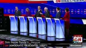 News video: Dems Battle In Final Debate Before Iowa Caucuses