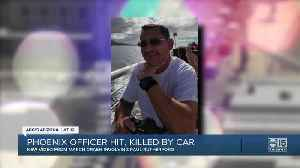 Phoenix officer hit and killed by car [Video]