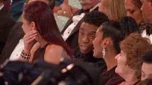 Chadwick Boseman and Rami Malek on the Oscars 2019 Audience Cam [Video]