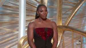 Serena Williams Introduces A STAR IS BORN [Video]