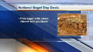 National Bagel Day Deals [Video]