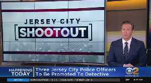 Promotion Day For Jersey City Police Officers [Video]