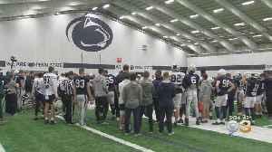 Penn State Football Facing New Lawsuit Alleging Violent Hazing [Video]