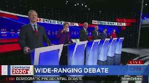 Highlights From The Democratic Debate In Iowa [Video]