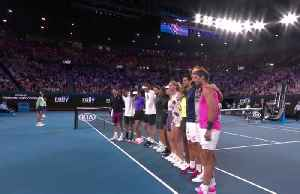 Tennis stars raise funds for bushfire relief [Video]