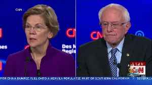 Warren, Sanders Clash At Democratic Debate [Video]