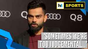 Watch Virat Kohli's reaction to winning ICC Spirit of Cricket award [Video]
