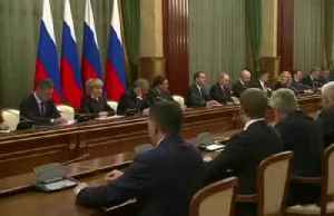 Russian government dissolved - Prime Minister Medvedev [Video]