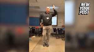 TikTok teacher earned his students' respect through dance [Video]